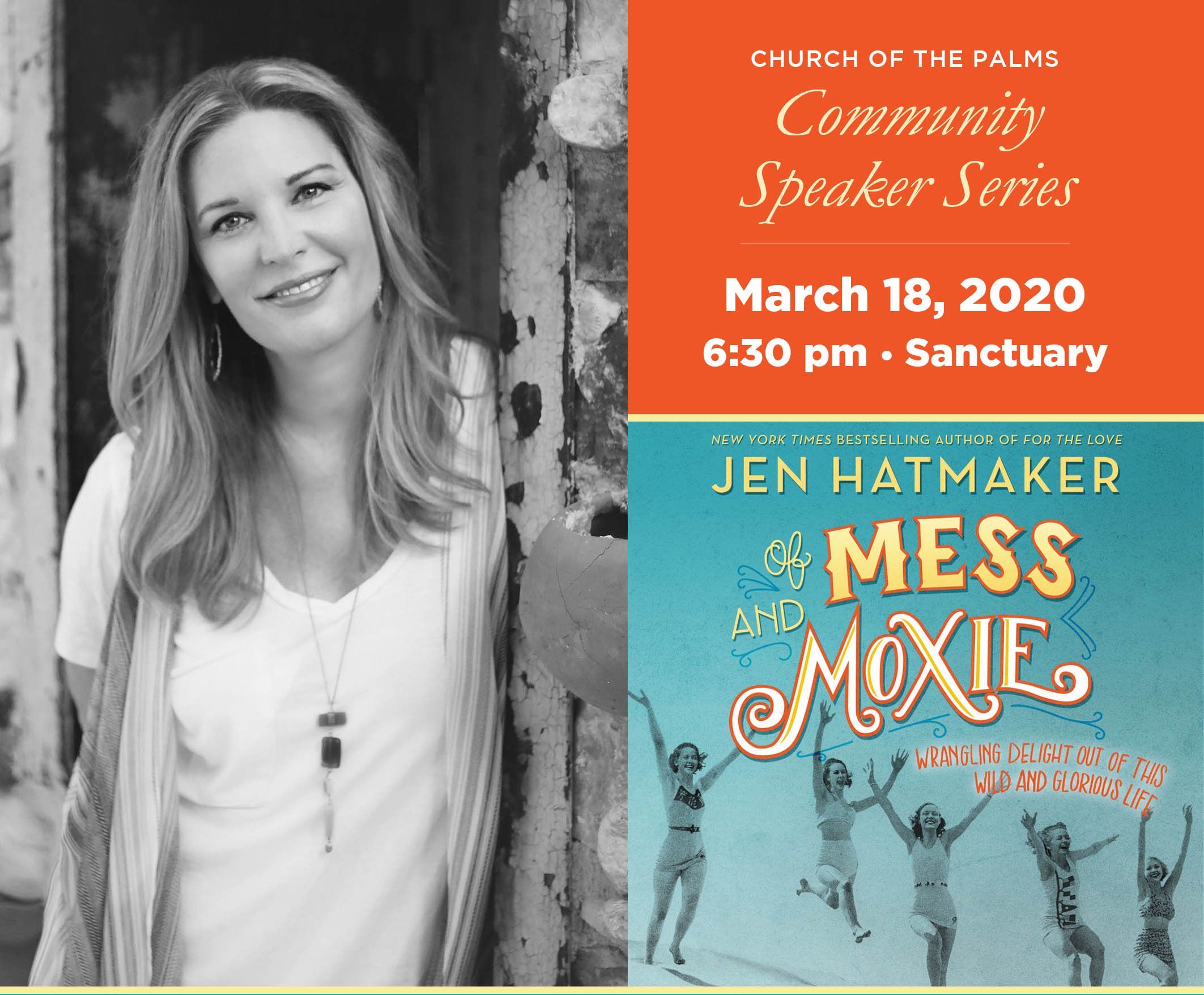Community Speaker Series: Jen Hatmaker